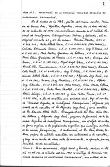 primer pagina acta fundacional